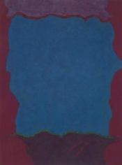 Theodoros Stamos - Infinity Field, Lefkada Series, 1981