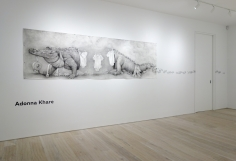 Adonna Khare - Installation view