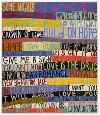 Squeak Carnwath - Love, 2014 - Hollis Taggart