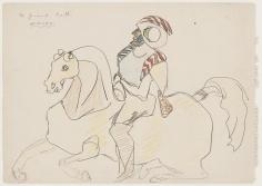 John D. Graham - Horse and Rider, circa 1945