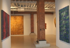 Sundaram Tagore Gallery, New York, Installation,  Building  a Picture , November 2006