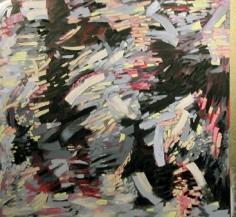 "Judith Murray, Elation, 2006, Oil on linen, 62 x 66"""
