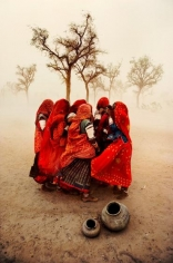 Steve McCurry, Dust Storm, Rajasthan, India, 1983, chromogenic print on Fuji Crystal Archive, 48 x 72 inches/121.9 x 182.9 cm; © Steve McCurry