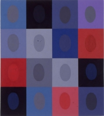 """Betty Weiss, Tempo, 2003, Acrylic on Canvas, 40 x 36"""""""