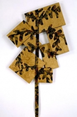, Susan Weil, Baroque Tree, 2006, acrylic on canvas, 73 x 39 inches/185.4 x 99.1 cm