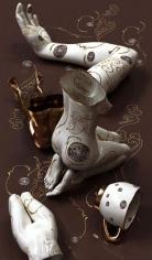 , Kim Joon, Golden Hour-Starbucks, 2011, digital print, 47 x 27.5 inches/119.4 x 69.9 cm