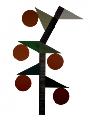 Merrill Wagner Japanese Lantern	2006	Paint on steel	106 x 71""