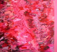 """Judith Murray, Royal Flush, 2006, Oil on linen, 40 x 44"""""""