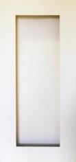 Warren Khong, #089, 2015, acrylic, wall paint, wood, plaster, 184 x 80 x 10 cm