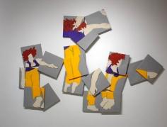 """Susan Weil, Trisha Dancing, 2001, Acrylic on canvas, 60 x 85"""""""