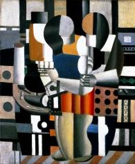 Fernand Léger Les trois figures Oil on canvas