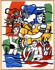 Fernand Léger Le Bonheur Gouache on paper