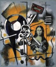 Fernand Léger La Joconde aux clés (1er état) Oil on canvas