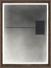Nate Young Untitled Diagram #1, from Diagrams with My Father, 2014 Graphite on paper, artist frame