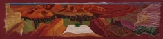 Composition Crayon Study for a Closer Grand Canyon, 1998