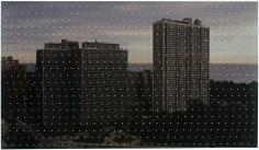 David Klamen Untitled 2008 Acrylic on archival pigment print