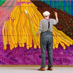 David Hockney Artists Richard Gray Gallery