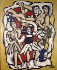 Fernand Léger Les Danseuses aux Oiseaux Oil on canvas