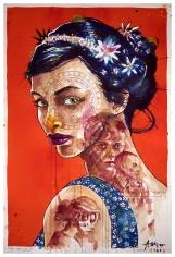 """Ole Aakjær, """"Ruby"""", Galerie LeRoyer"""
