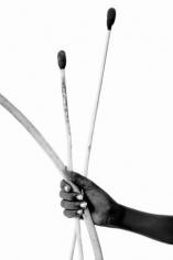 "Lyle Owerko ""Lmimban Lengoseri (Holding Bow and Arrow)"" Galerie LeRoyer"