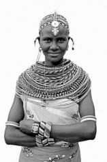 "Lyle Owerko ""Young Samburu Woman"" Galerie LeRoyer"