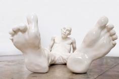 "Idan Zareski, ""Bigfoot White"", Galerie LeRoyer"