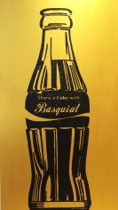 "Knowledge Bennett ""Share a Coke with Basquiat"" Galerie LeRoyer"