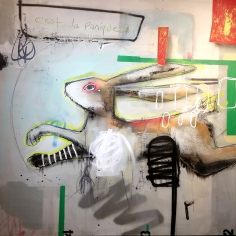 """Jérôme Rochette, """"C'est la Panique"""", Galerie LeRoyer"""