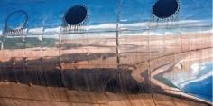 "Manolo Chrétien ""Blue Shark, Ed. I/III"" Galerie LeRoyer"