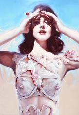 Ivan Alifan, Galerie LeRoyer, Marvel, huile sur toile, oil painting