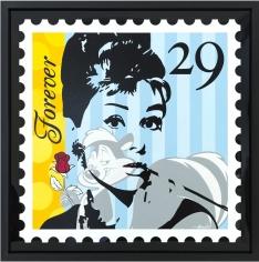 "Guy Boudro ""Audrey Hepburn Forever 29"" Galerie LeRoyer"