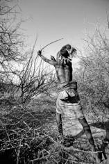 "Lyle Owerko ""Lmimban Lengoseri (Action Shot)"" Galerie LeRoyer"