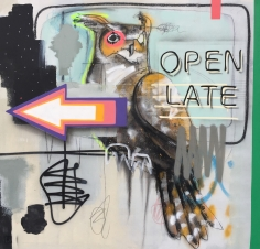 """Jérôme Rochette, """"Open late"""", Galerie LeRoyer"""