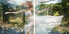 "Barbara Cole ""Battersea Garden Diptych"" Galerie LeRoyer"