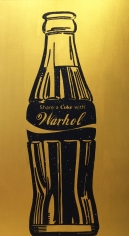 "Knowledge Bennett ""Share a Coke with Warhol"" Galerie LeRoyer"