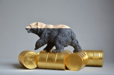 """Willy Verginer, """"The Rich Bear"""", Galerie LeRoyer"""