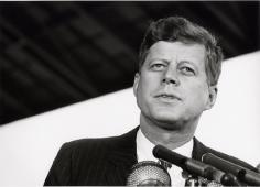 John F. Kennedy (Portrait), Washington, D.C., 1963, Silver Gelatin Photograph