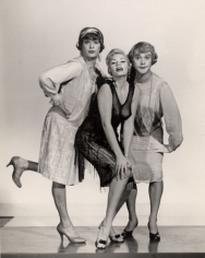 """Tony Curtis, Marilyn Monroe and Jack Lemmon, """"Some Like it Hot,"""", 14 x 11-1/2 Vintage Silver Gelatin Photograph"""