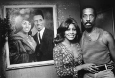 Ike and Tina Turner at Home, Los Angeles, 1974, Silver Gelatin Photograph