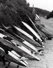 Boards, Ditch Plains, 20 x 16 Silver Gelatin Photograph