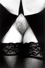 Untitled (Close-up Black Lace Stockings), 14 x 11 Silver Gelatin Photograph, Ed. 25