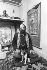 Allen Ginsberg, New York, 1963, Silver Gelatin Photograph
