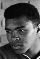 Muhammad Ali (Cassius Clay) Portrait, Louisville, Kentucky, 1963, Silver Gelatin Photograph