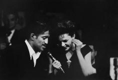Sammy Davis Jr. and Judy Garland, New York, 1961, Silver Gelatin Photograph
