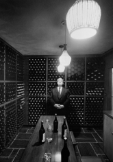 Alfred Hitchcock (In Wine Cellar), c. 1960s
