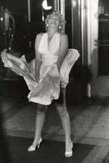 "Marilyn Monroe, ""Seven Year Itch"" Set, New York, 1955, 17 x 14 Silver Gelatin Photograph"