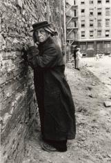 Buster Keaton, New York City, 1964, Silver Gelatin Photograph