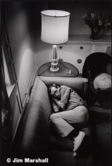 Woody Allen (on Couch), 1963, 14 x 11 Silver Gelatin Photograph