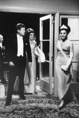 JFK and Jackie with Princess Farah Dibah, Washington D.C., 1963, Silver Gelatin Photograph
