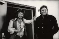 Waylon Jennings and Johnny Cash, Hendersonville, Tennessee, 1974